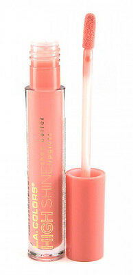 L.A. Colors Makeup Intense High Shine Shea Butter Lip Gloss CLG933 Baby Cakes