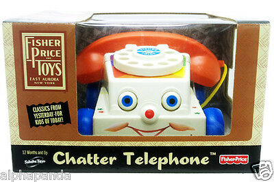Fisher-Price™ Vintage Retro Classic Chatter Telephone™ NEW