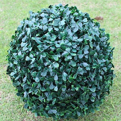 1pc Artificial Plant Ball Tree Boxwood Green Grass Indoor Outdoor Decoration