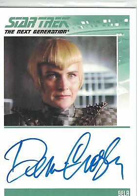 Star Trek TNG Complete (2012): Denise Crosby autograph