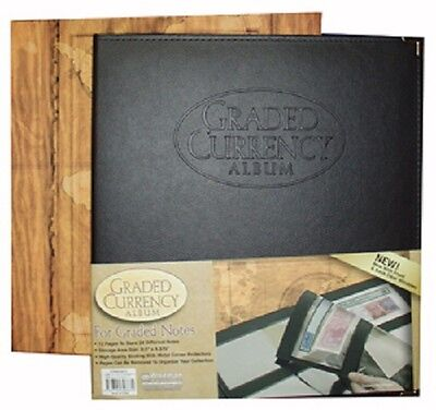 Graded Certified Banknotes Currency Album PMG PCGS Paper Money Collection USA
