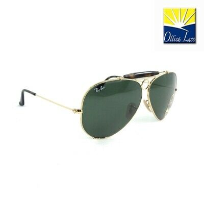 8646ae7ac22a1 Ray Ban SHOOTER Havana Collection 3138 181 Calibro 62 Sunglass Sonnenbrille  Sole