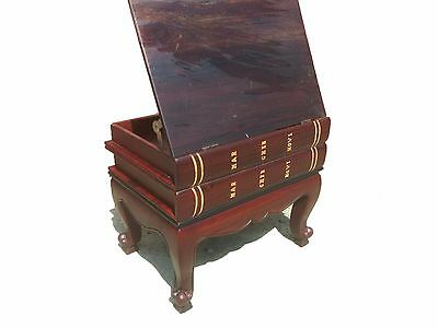 Black Wood Antiquarian coffee table