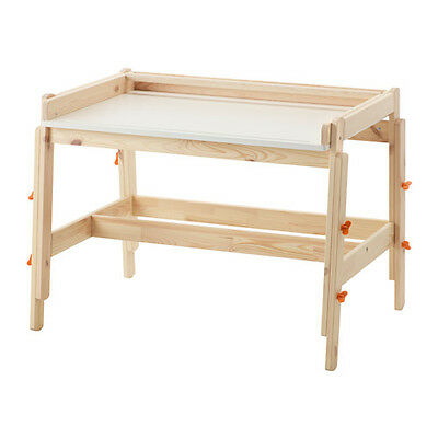 FLISAT Children's desk, adjustable for homework or arts and crafts