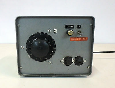 Superior Electric Variable Autotransformer Powerstat Type Power Supply