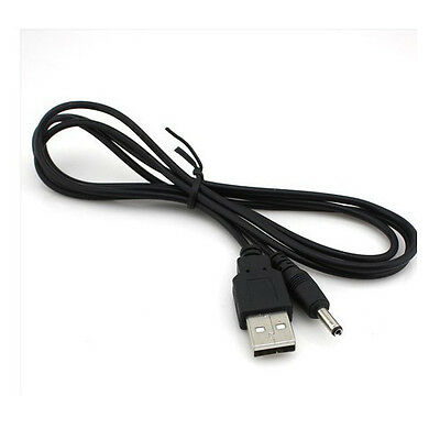 USB 2.0 to 3.5mm Barrel Jack Plug to DC 5v Power Supply Charger Cable wholesale