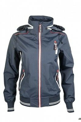 Kinder Reitjacke International HKM PRO TEAM dunkelblau NEU