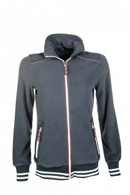 Kinder Fleecejacke International HKM PRO TEAM dunkelblau NEU