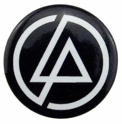 LINKIN PARK LP ICON LOGO 25mm BADGE NEW & OFFICIAL BAND MERCHANDISE PB1294