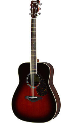 Yamaha FG830 TBS Acoustic Guitar (Tobacco Brown Sunburst). NEW!!
