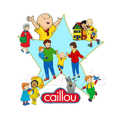 Caillou Iron On Transfer