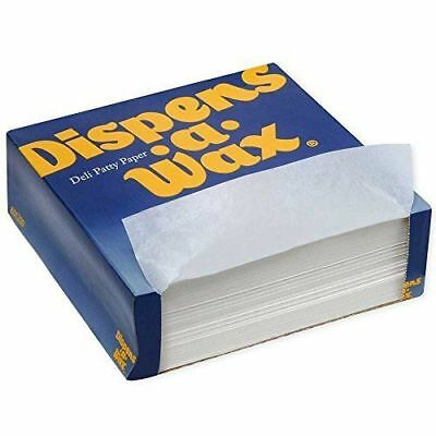 "Dixie Dispens A Wax Restaurant Deli Dry Wax Paper 2000 ct 6""x6"" 2 Boxes of 1000"