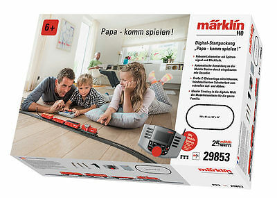 "Märklin 29853 Digital Starter Pack ""Papa come play"" with MS 60653 # in #"