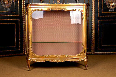 O-93 Flamboyant french Cabinet Middle 19. Jhd