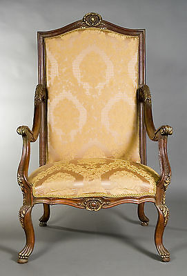 B-Kw-20 Classic Baroque armchair Chair Seating in the Louis Quinze Baroque Style
