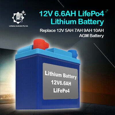 New 12V LifePo4 Lithium-ion Motorcycle Battery 180CCA Replace 5AH 7AH 9AH F1W210