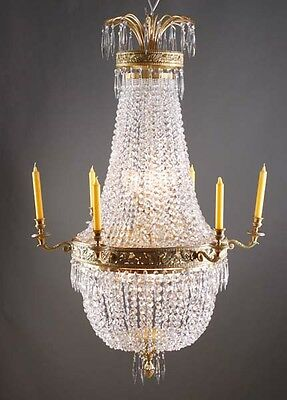 F-Ra-19 Classical Basket chandeliers in the Empire Style Chandelier Lamp Light