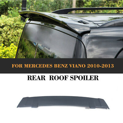 Unpainted FRP Rear Roof Spoiler Window Lip Wing Fit for Mercedes Benz Vito Viano