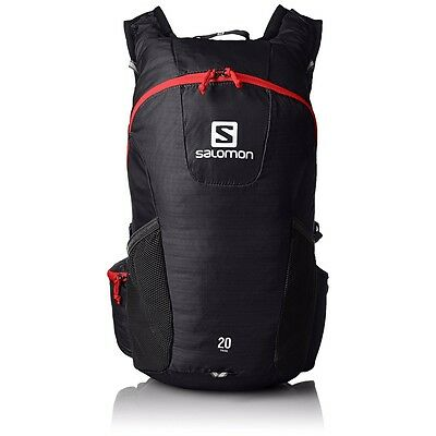 Salomon Trail 20 BackPack Black 20 Liter Daypack NEW