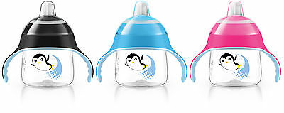 PHILIPS AVENT SPOUT CUP 6 MONTHS+ 200ML - sip no drip bottle drink cup baby grip