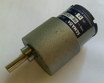 SGMADA 37mm 12v gear motor PM-33123000-540K 5.5rpm SPIT ROAST MOTOR maybe