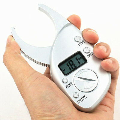 High Quality Digital Display LCD Body Fat Caliper Skin Fold Analyzer