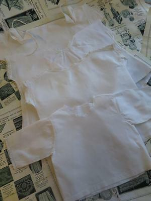 Collection Antique Edwardian Baby Shirts
