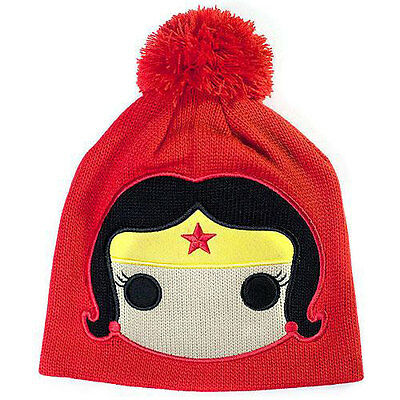 Wonder Woman - Funko Face Acrylic Bobble Hat - New & Official DC Comics with tag