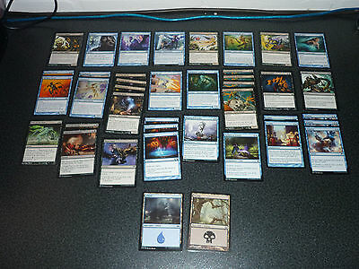 MtG Magic the Gathering Faerie Rogue Deck