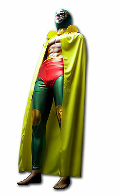 Luchadora Mexican Eagle Lucha Libre Wrestling outfit mask pants yellow cape