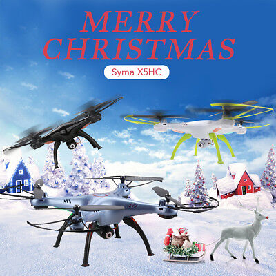 SYMA X5SW-1 RTF Drone 2.4G 4CH 6 Axis RC Quadcopter with Camera Red