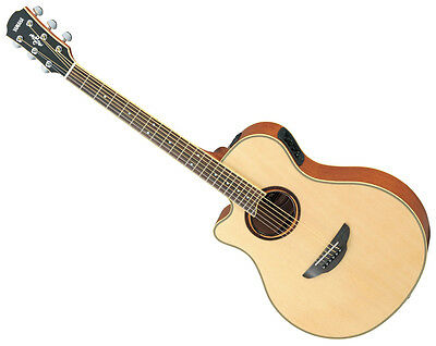 Yamaha APX700IIL Electric Acoustic Guitar (Natural Finish / Left Handed)