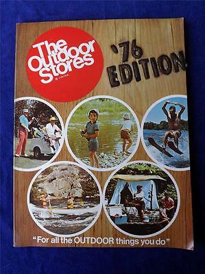 1976 The Outdoor Stores Limited Catalogue Vintage Canada Fishing Hunting Camping
