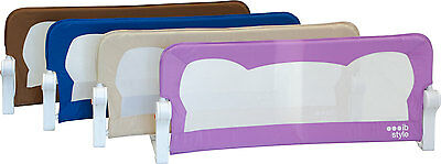 "Bedrail ""FINN"" 4 Sizes 4 Colors Bedguard Child Baby Bed Foldable"