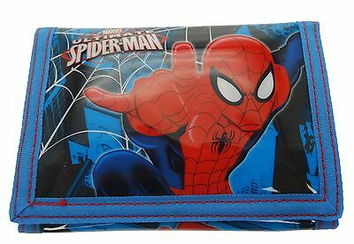Marvel Ultimate Spider-Man Tri-Fold Wallet | Purse with Coin Zip Compartment