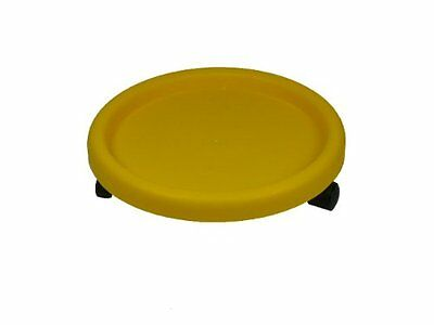 Romanoff Bucket/Plant Dolly:Yellow, New, Free Shipping