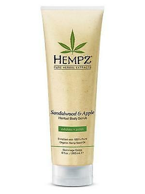 NEW Hempz Body Scrub Sandalwood and Apple 265ml from Celcius Skin & Beauty