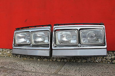 "Volvo US 240 242 244 246 Turbo USA Doppelscheinwerfer headlight ""E"" Scheinwerfer"