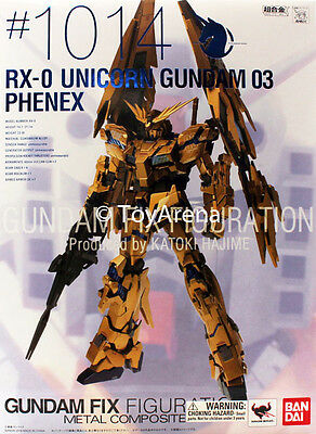Gundam Fix Figuration Metal Composite RX-0 Unicorn Gundam 03 Phenex #1014 USA