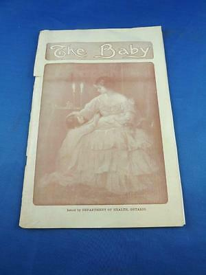 Booklet The Baby Department Of Health Ontario Information Care Vaccinations