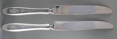TWO Community Bird of Paradise Luncheon Knives TWO