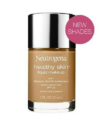 (1) Neutrogena Healthy Skin Liquid Makeup, You Choose!