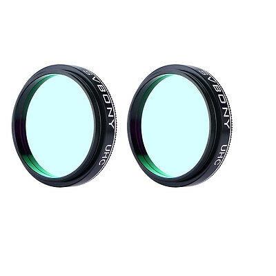 2X Full Metal Optical 1.25'' UHC Light Pollution Reduction Filter for Eyepiece Y