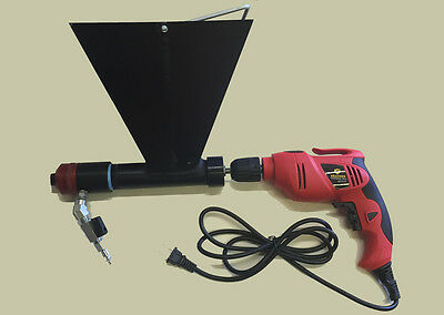 Synthetic Mortar Gun Stucco Sprayer and Repointing Machine, Drill  Included