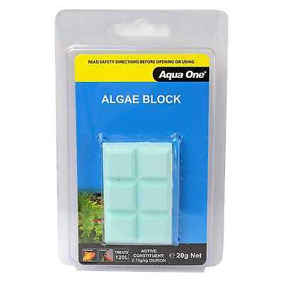 Aquarium Algae Eliminator Block 20g 95001 Fish Tank Aqua One
