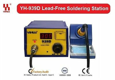 Genuine YIHUA Soldering Station SMD Rework Solder Iron YH-939D Digital New