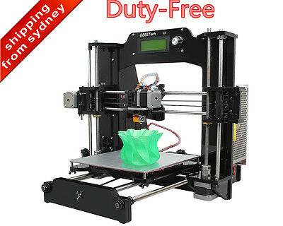 Duty Free Geeetech Reprap 3D Printer Prusa i3 X Print 6 filament DIY Kit