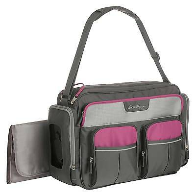Eddie Bauer Places & Spaces Duffle Diaper Bag - Wild Aster