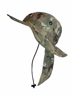 British Army - MTP CAMO BUSH HAT - Tropical - Summer - Used - Good Condition