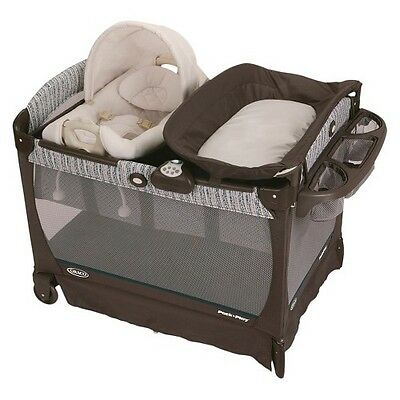 Graco Pack 'n Play Playard with Cuddle Cove Removable Seat - Winslet